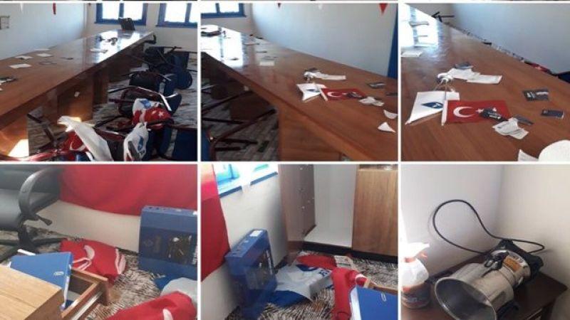 DEVA Partisi Hassa Teşkilatına Saldırı