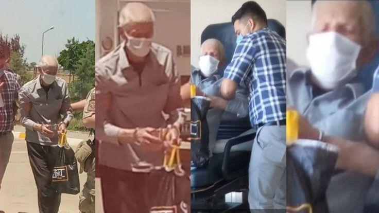 83 Yaşındaki Hasta Tutuklu Özkan Hastaneye Kelepçeli Götürüldü