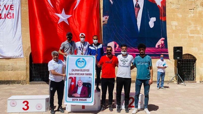 Çaldıranlı Sporculardan Bir Türkiye Birinciliği Daha