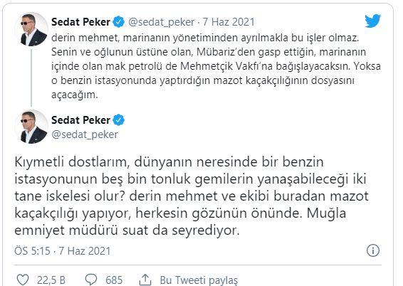 Sedat Peker'den Yeni Suçlama: Perşembe Günü Yeni Video Sözü Verdi