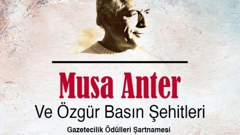 Musa Anter Gazetecilik Ödülleri İçin Başvurular Başladı