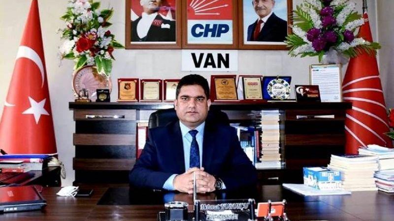 CHP Van İl Başkanı İstifa Etti