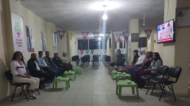 HDP, Çaldıran'da Poyraz İçin Nöbet Eylemi Başlattı