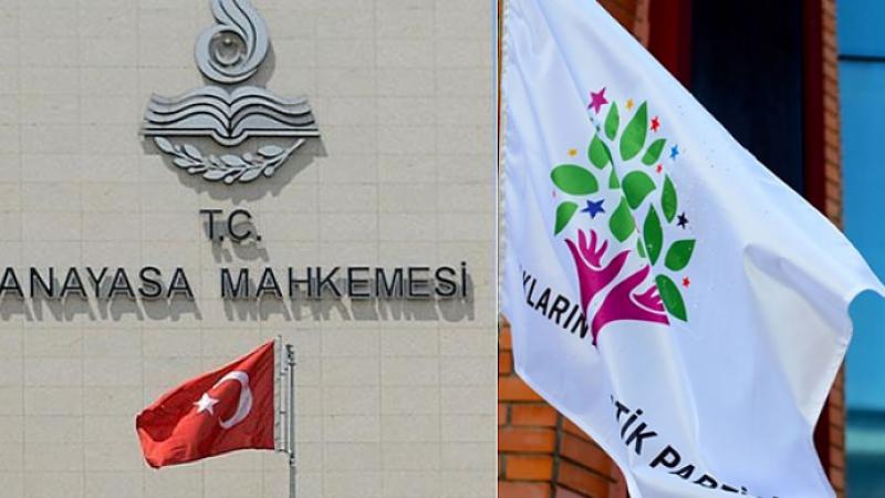 Raportör HDP İddianamesinin Kabul Edilmesini İstedi