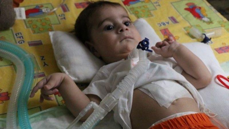 SMA Hastası Şervan Bebek İçin Dayanışma Çağrısı