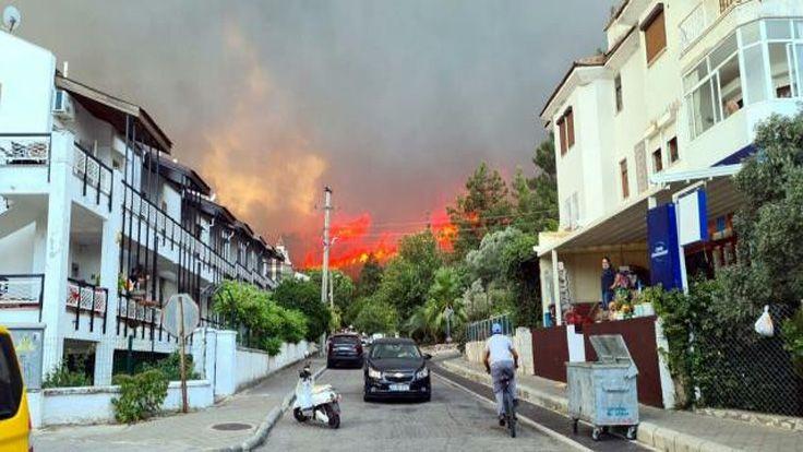8 İlde Orman Yangını