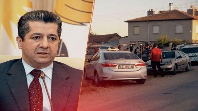Barzani'den Konya'daki Kürt Aileye Yönelik Saldırıya İlişkin Açıklama