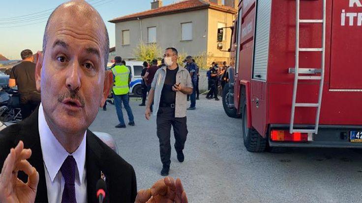 İçişleri Bakanı Soylu'dan Konya'da 7 Kişinin Öldürülmesiyle İlgili İlk Açıklama
