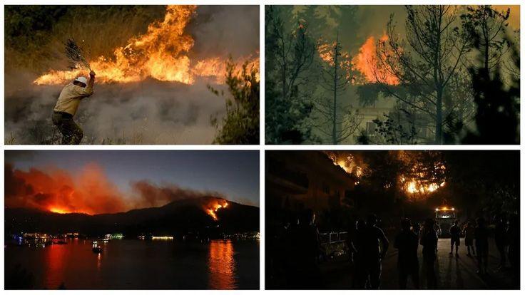 Manavgat, Fethiye, Hatay Orman Yangınlarında Son Durumlar