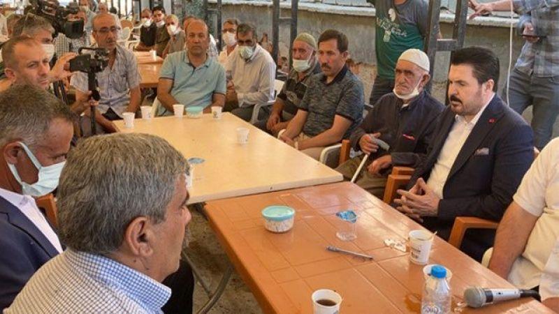 Dedeoğulları Taziyesinde AKP'li Savcı Sayan'a Tepki