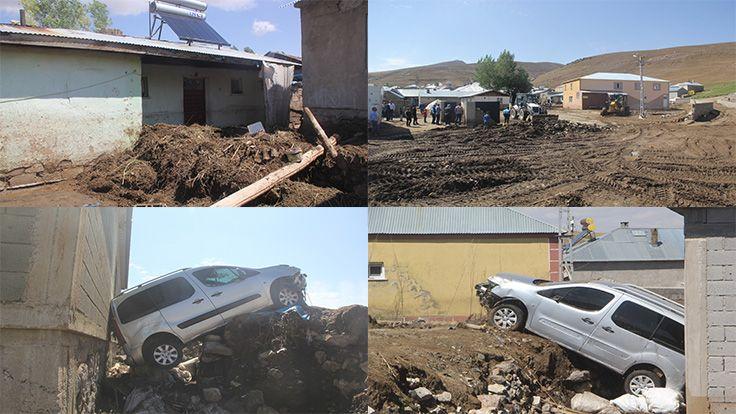 Van'daki Selin Bilançosu: 900 Hayvan Öldü, 32 Ev Kullanılamaz Halde