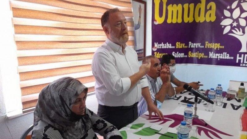 Erciş'te Halk Buluşması