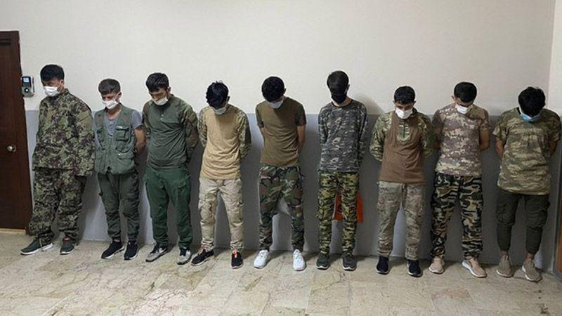 Zeytinburnu'nda Asker Kıyafetiyle Dolaşan 9 Afgan Göçmen 'Muhafaza' Altına Alındı