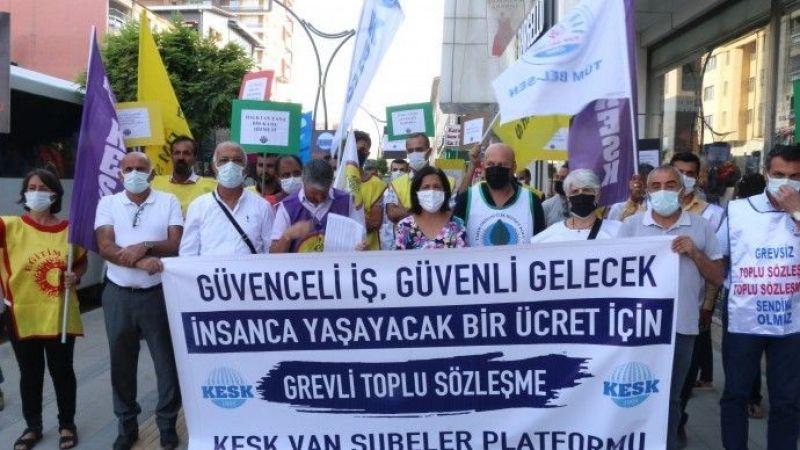 KESK Van Şubesi TİS Taleplerini Sıraladı