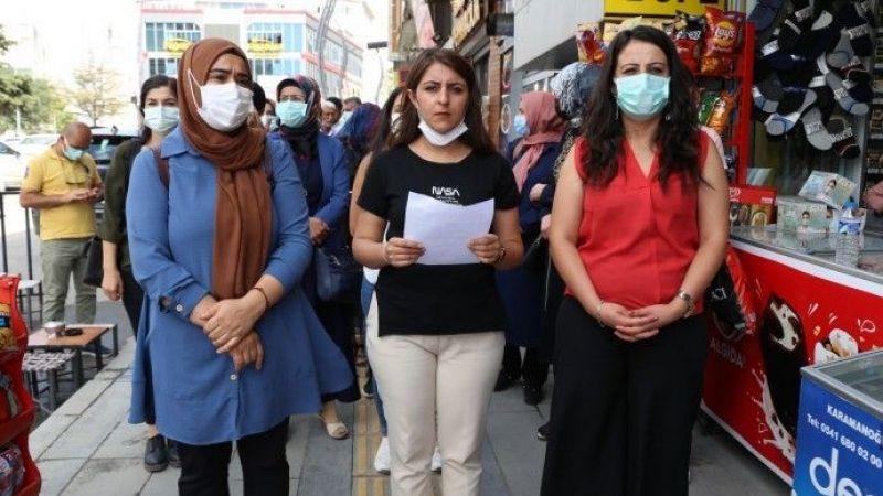 Van'da Kadın Katliamlarına Karşı Sokağa Çıktılar: Yaşamı Aydınlatacağız