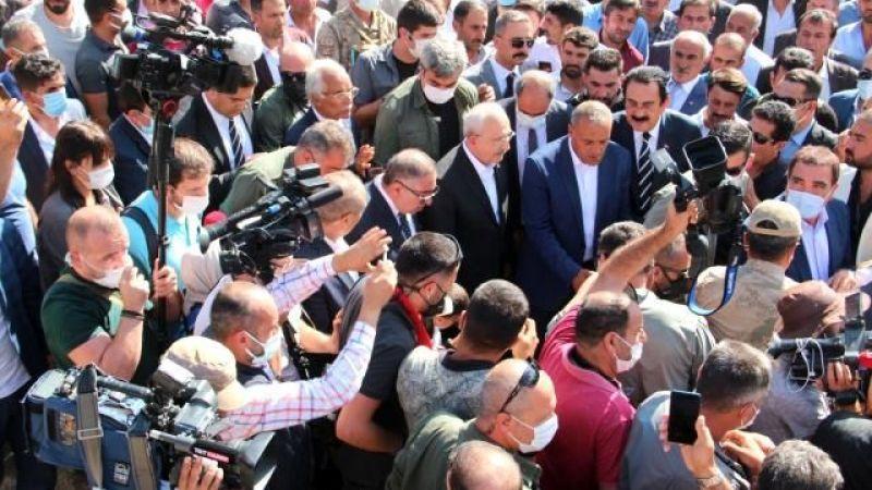 CHP Genel Başkanı Kılıçdaroğlu Van'daki Sel Bölgesinde