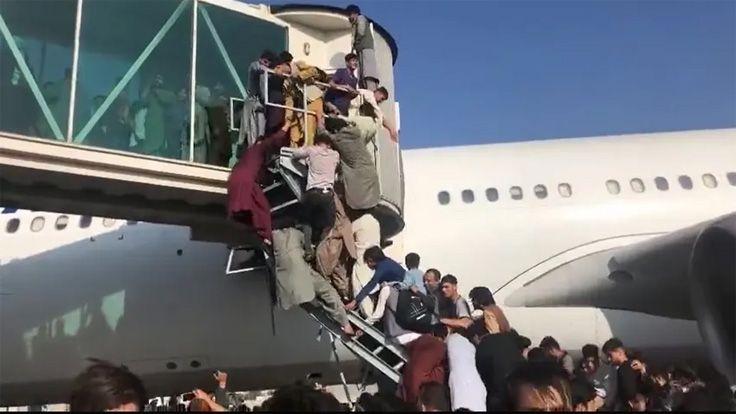 ABD Askerleri Afgan Sivilleri Engellemek İçin Kabil Havalimanı'nda Havaya Ateş Açtı: 'En Az Beş Kişi Öldü'