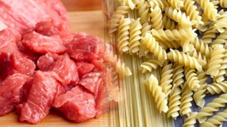 Kırmızı Et Tüketimi Yüzde 33 Azaldı, Makarna Tüketimi Yüzde 25 Arttı