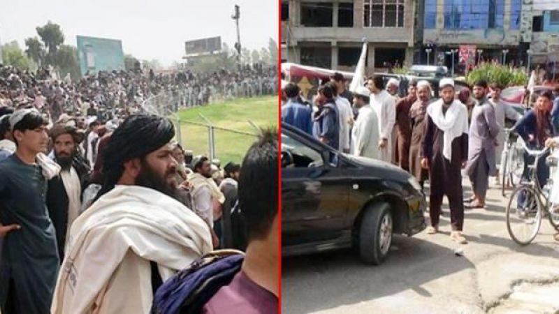 Stadyumda İdam! Taliban Dört Komutanı Binlerce Kişinin Önünde Astı