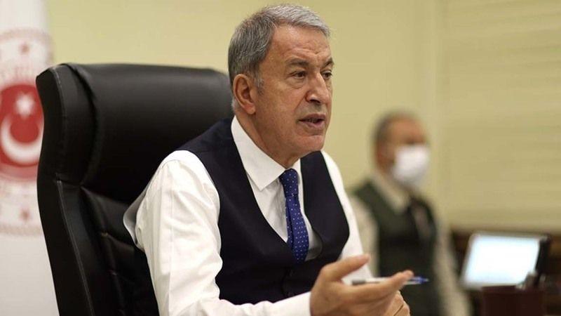 Milli Savunma Bakanı Akar'dan Türk Askerlerinin Afganistan'dan Tahliyesine İlişkin Açıklama