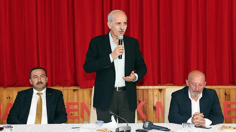 AKP'li Kurtulmuş: Gittiğimiz Birçok Yerde Milletin Hayır Duasını Alıyoruz