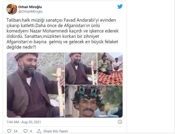 AKP MKYK Üyesinden Taliban Çıkışı: Afganistan'ın Başına Gelmiş En Büyük Felaket