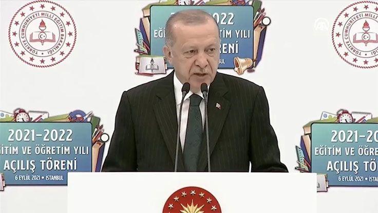 Erdoğan: Yüz Yüze Eğitimi Devam Ettirmekte Kararlıyız