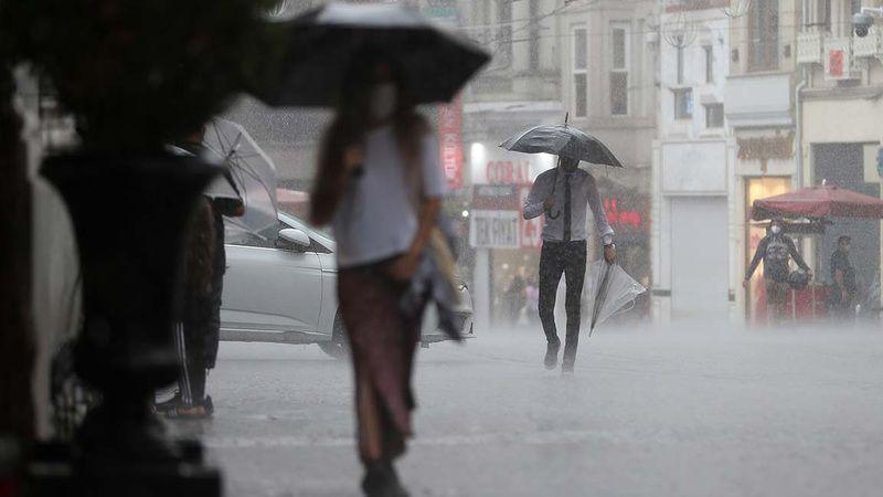 """AFAD'dan 7 İl için """"Çok Kuvvetli"""" Yağış Uyarısı!"""