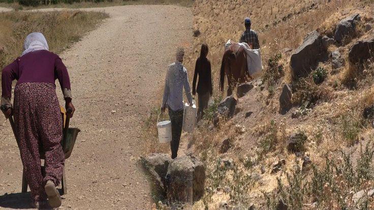 Van'ın Erciş İlçesindeki Mahallede 20 Yıldır Çeşmelerden Su Akmıyor