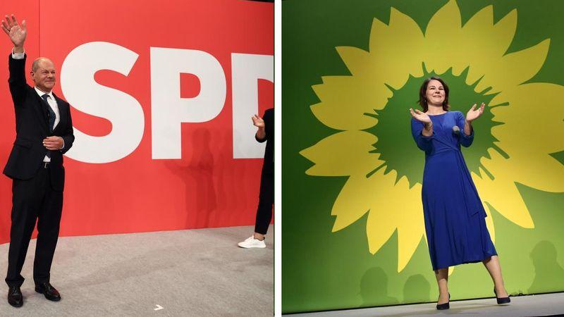 Almanya'da Sosyal Demokratlar 1.6 Puan Farkı ile Seçimin Galibi