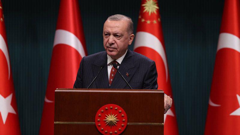 Erdoğan'dan, Kabine Toplantısının Ardından Açıklama