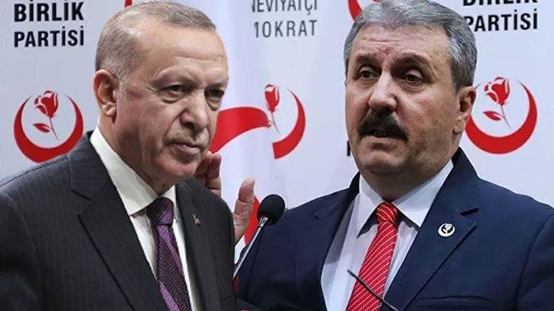 Cumhur İttifakı'nda 'Seçim Barajı' Krizi; Destici Talebini Erdoğan'a İletti