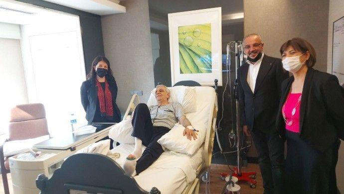 HDP Eş Genel Başkanı Buldan, Ahmet Türk'ü ziyaret etti