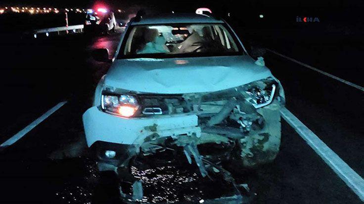Muradiye'de Trafik Kazası