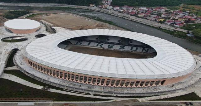 Çotanak Arena'da çim serimi başlıyor