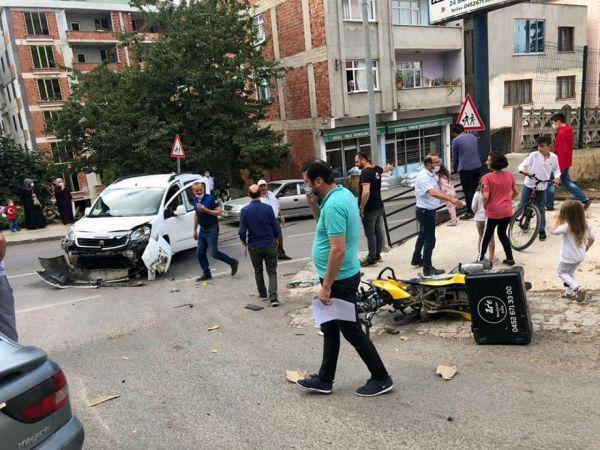 Ordu'da kamyonetle çarpışan motosikletin sürücüsü öldü