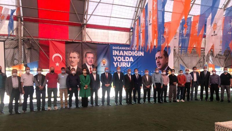 AK Parti Doğankent İlçe Başkanlığına Dede, yeniden seçildi