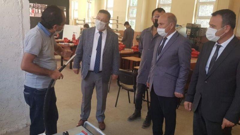 Milli Eğitim Müdürü Tosunoğlu'ndan yüz yüze ziyaret