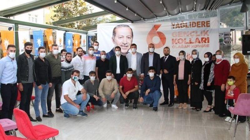 AK Parti Yağlıdere Gençlik Kolları Başkanlığı'na Doğan Doğanay seçildi