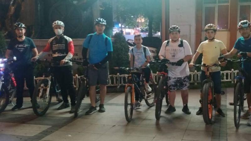 Bulancaklı bisikletçilerden Yason Burnu turu