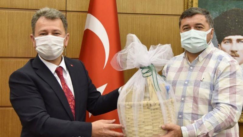 ÖSYM Başkanı Aygün'den Giresun Belediyesi'ne ziyaret