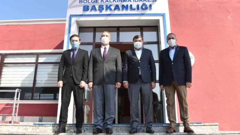 Başkan Şenlikoğlu'ndan Ziyaretler