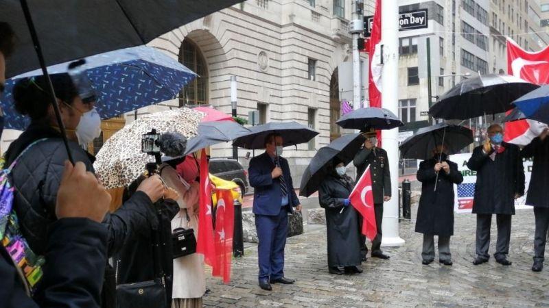 Türk Bayrağı ABD'de dalgalandı