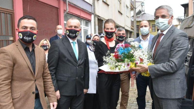 Ak Parti yerel yönetimler Genel başkan yardımcısından Keşap belediyesine ziyaret