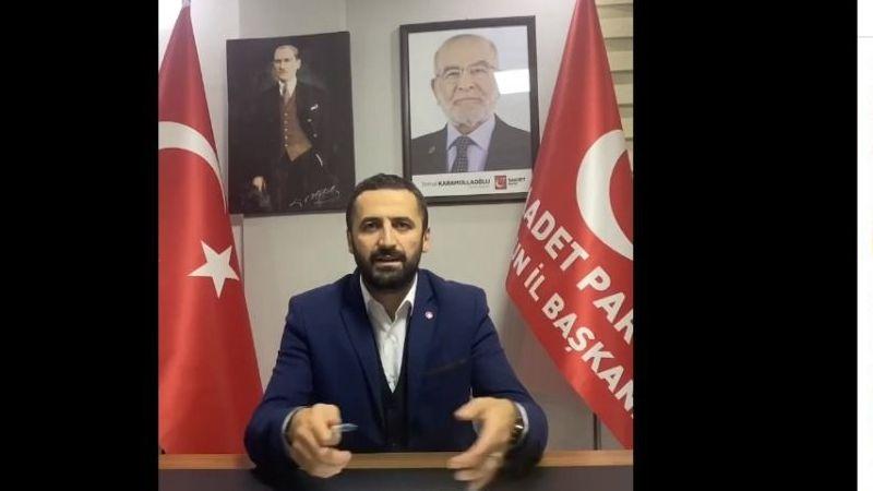 """SP İl Başkanı Bektaş'tankorkutucu rakam:""""Giresun'da 60 bin İşsiz var''"""
