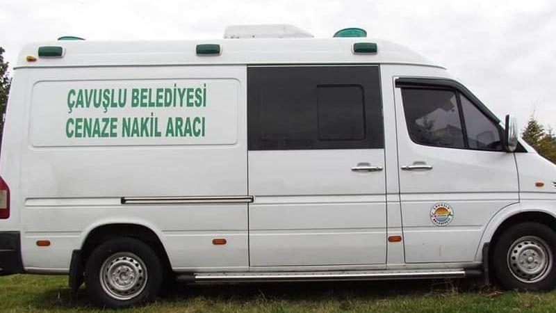 Çavuşlu Belediyesi cenaze nakil aracına kavuştu