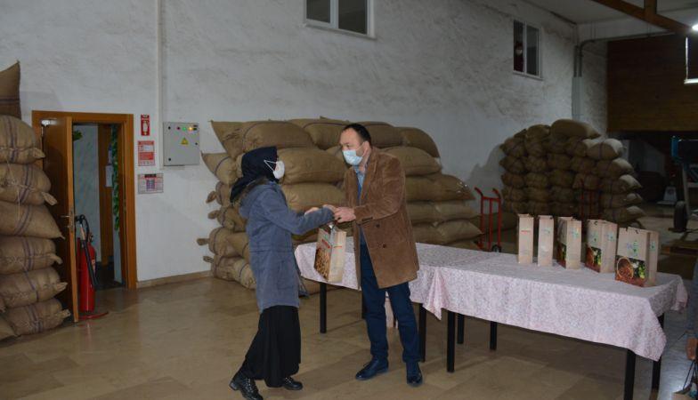 Giresun'da fındık firmasından eğitime kampanyalı destek
