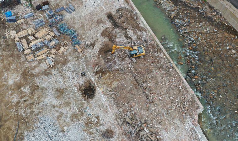 Sel felaketinde zarar gören Dereli'de yeni temeller atılıyor