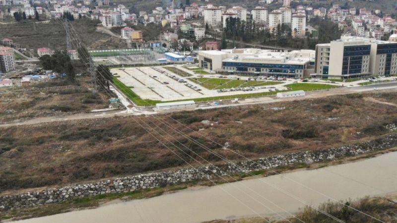 Giresun'da yeni stadyum ve hastane bölgesine köprü yapılacak