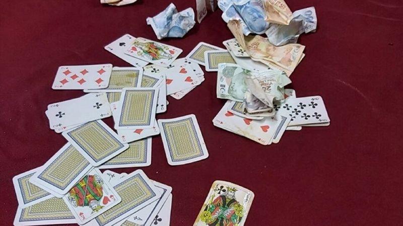 Giresun'da kumar oynayan 7 kişiye 34 bin 402 lira ceza